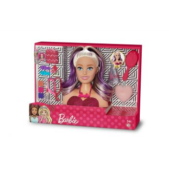 Boneca Barbie Busto Styling Faces - Pupee