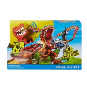 PISTA HOT WEELS ATAQUE DO T-REX - MATTEL