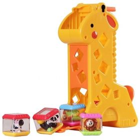 GIRAFA COM BLOCOS - FISHER PRICE  - MATTEL